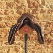 Selle panneaux coupés pour chevaux à très fortes épaules - Liberté de mouvements